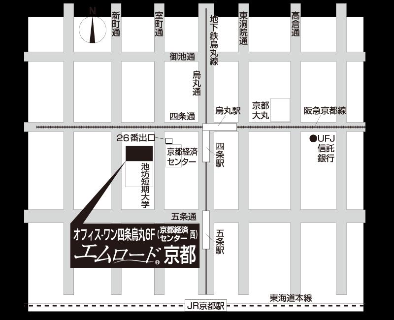 京都オフィスMAP